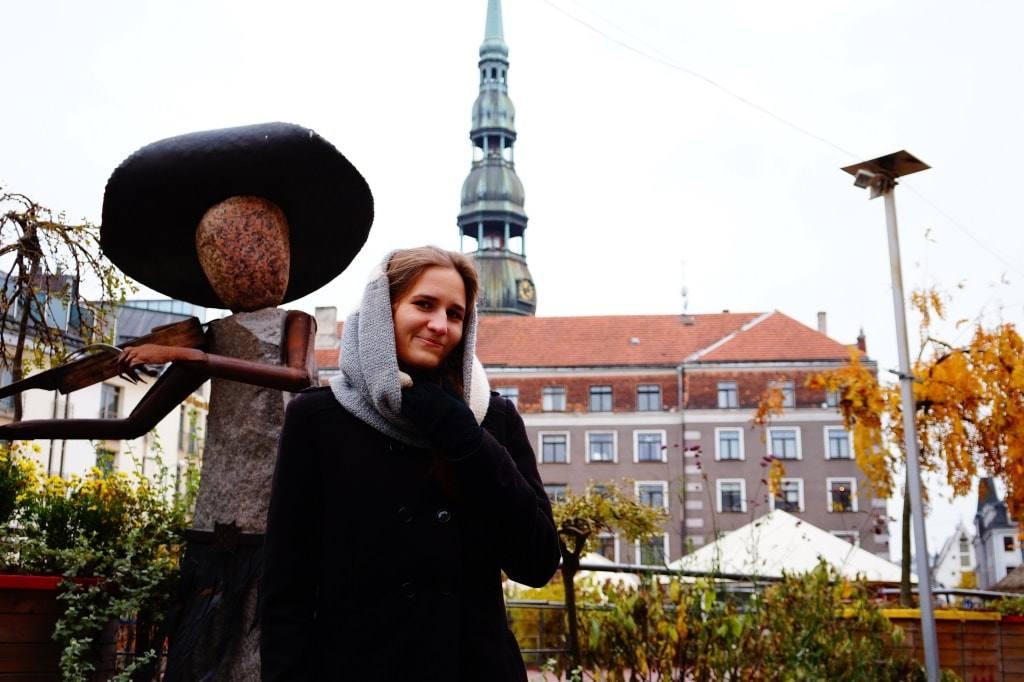 осенняя Латвия Рига