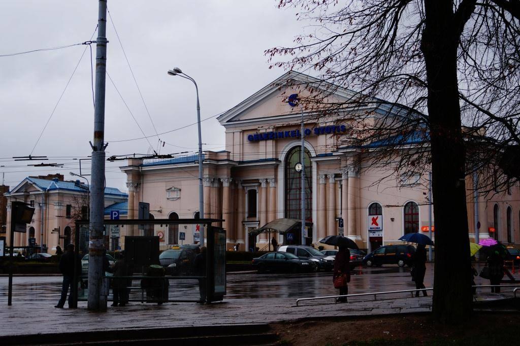 вокзал Вильнюса