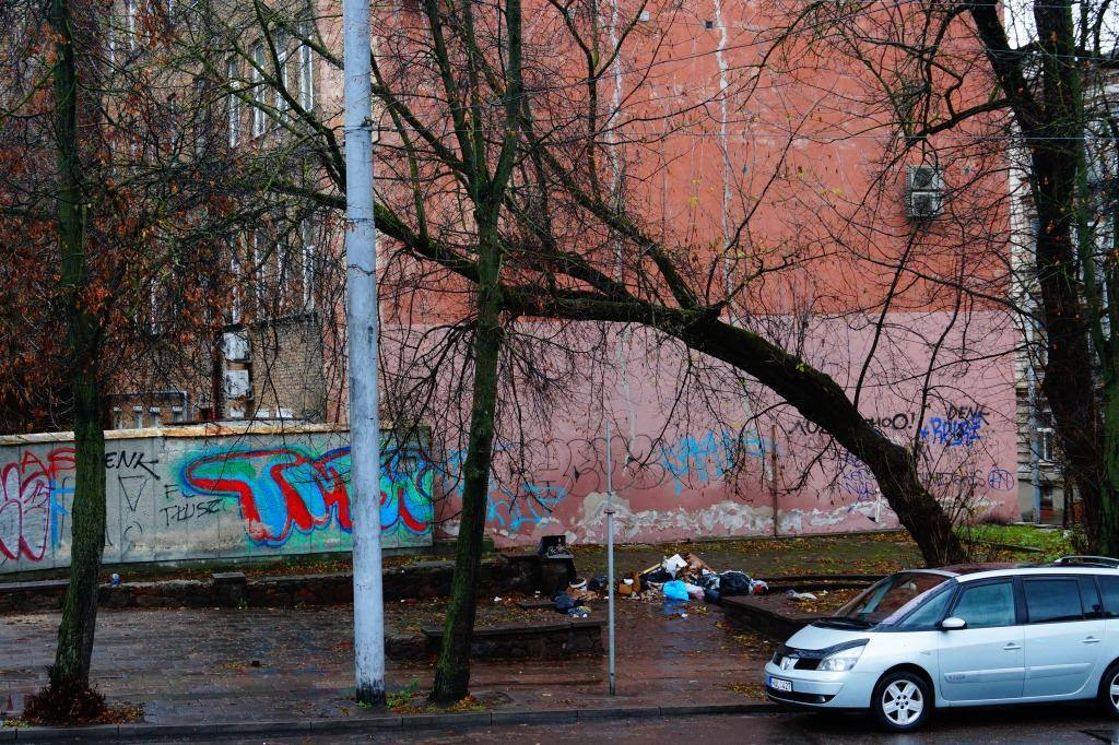 граффити в вильнюсе