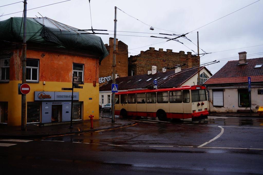 троллейбусы в Вильнюсе