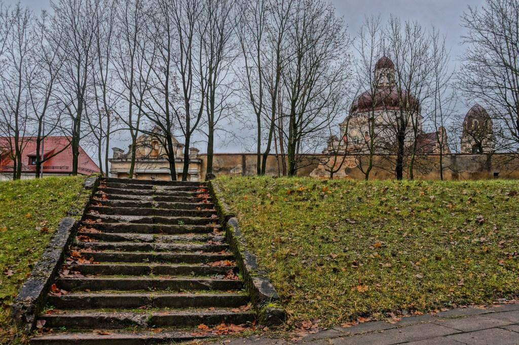 лестница в костелу