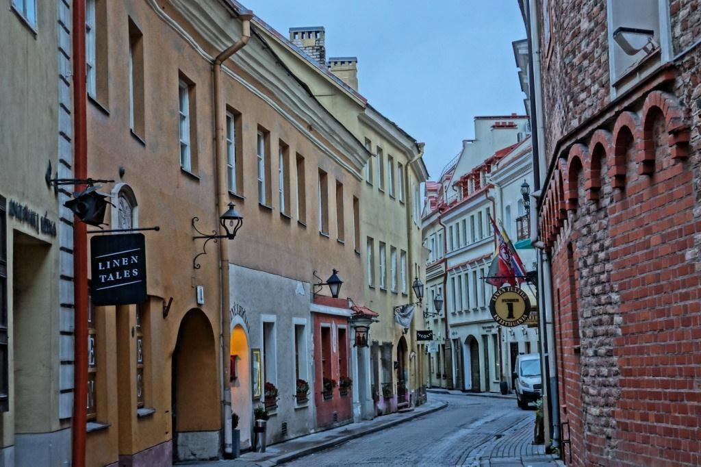 улицы вильнюсы