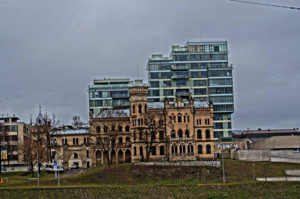 новый жилой комплекс в вильнюсе