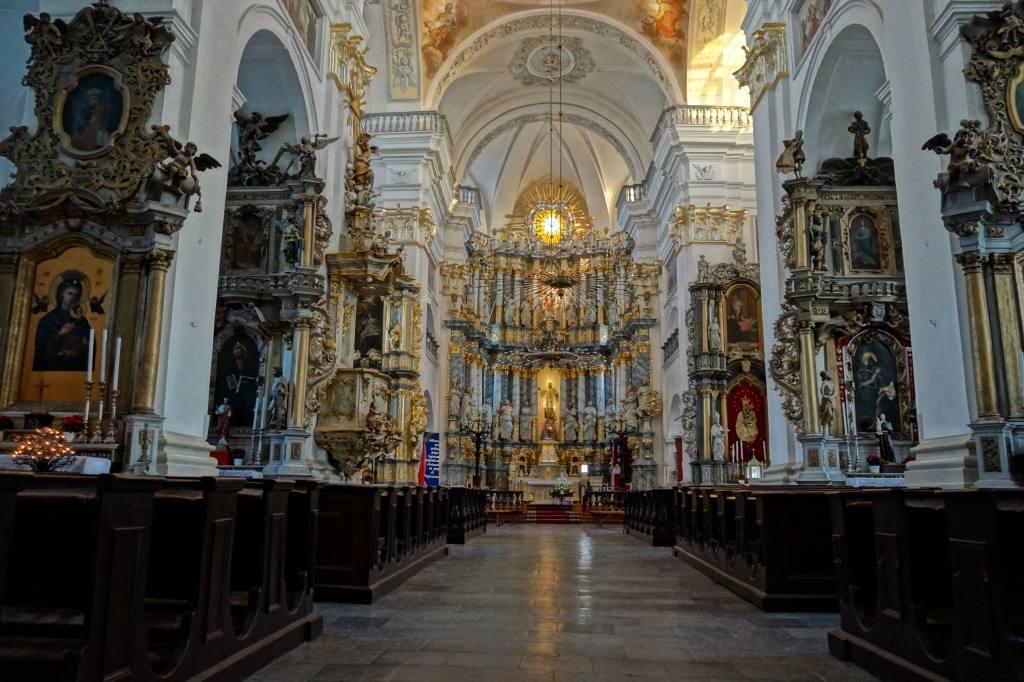алтарь Фарного костела