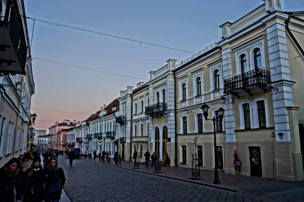 пешеходная улица Гродно