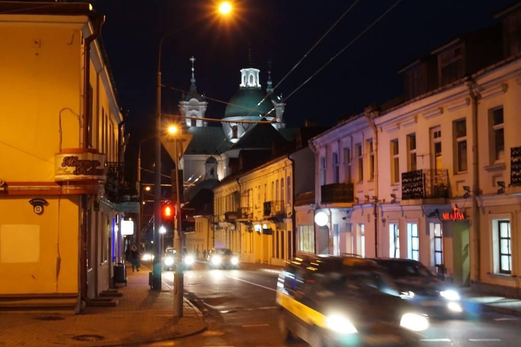 улица в Гродно