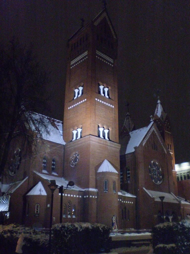 костел в Минске