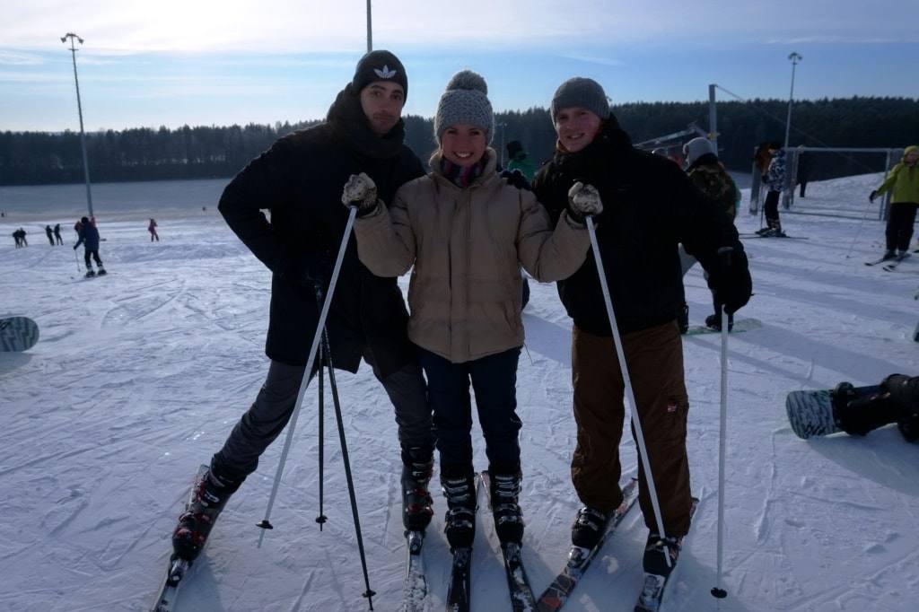 лыжи в Коробчицах