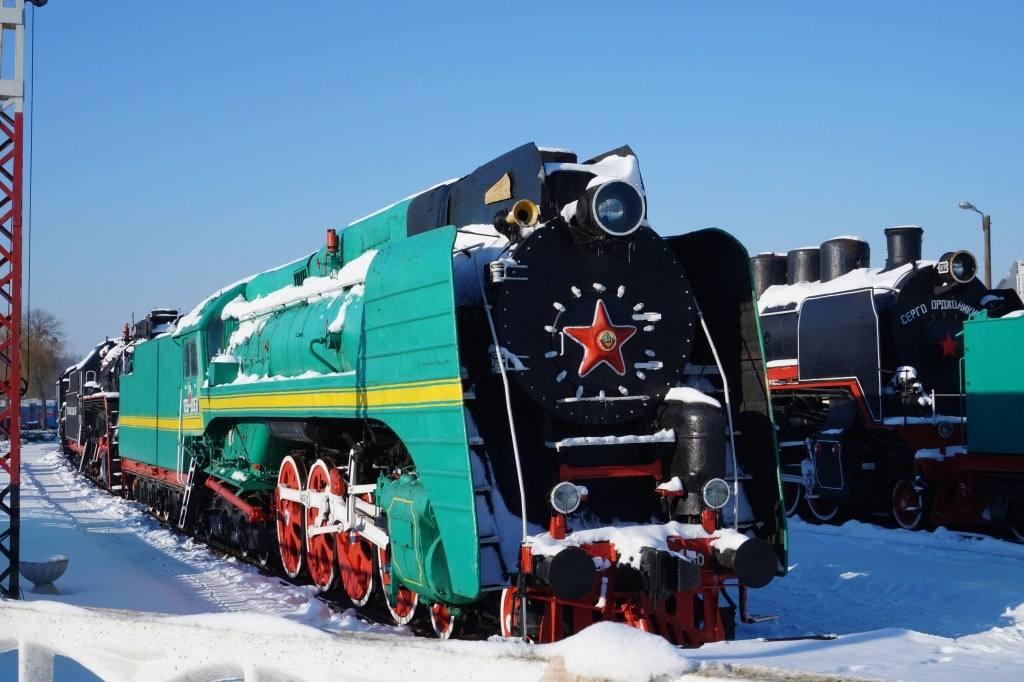 музей поездов Брест