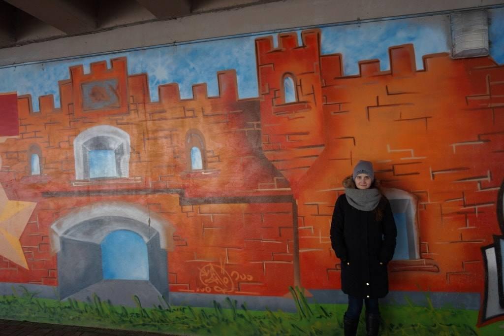 Холмские ворота граффити