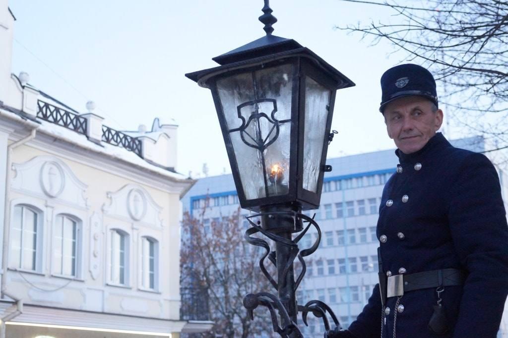 фонарщик в Бресте