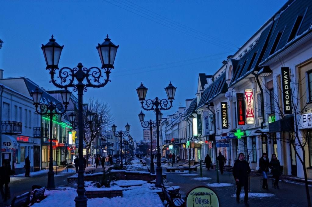 улица Советская Брест