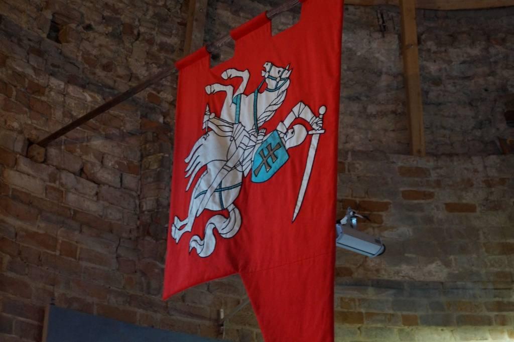 флаг с Погоней