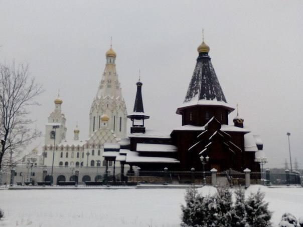 церковь парк Калиновского