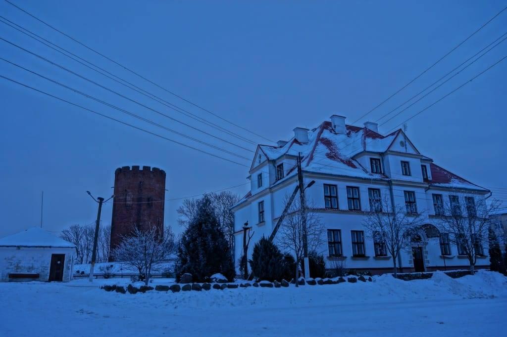 здание польской гимназии в Каменце