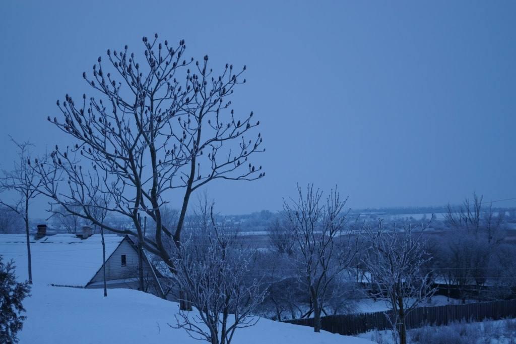 Беларусь зима