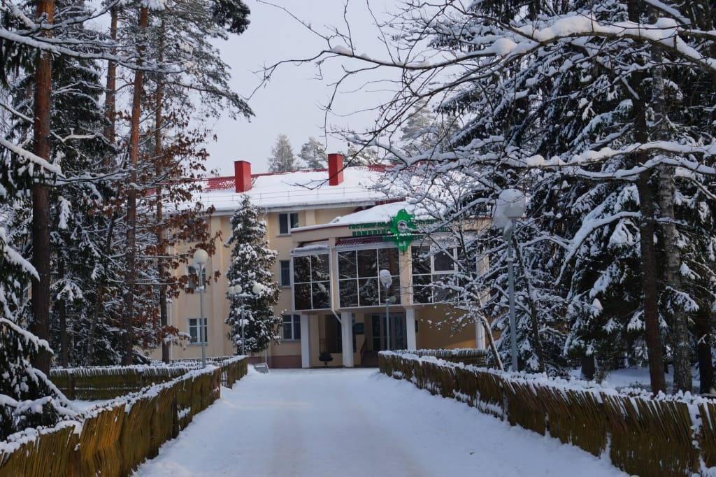 гостиница в Беловежской пуще