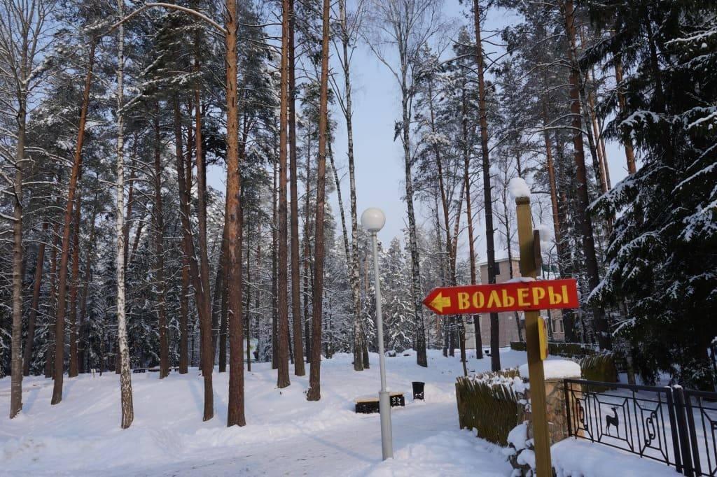 вольеры Беловежской пущи