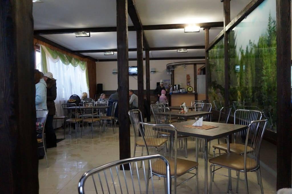 ресторан Сосны внутри