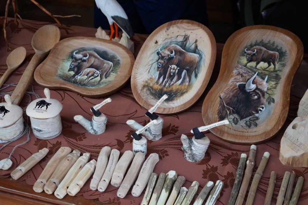 сувениры в Беловежской пуще