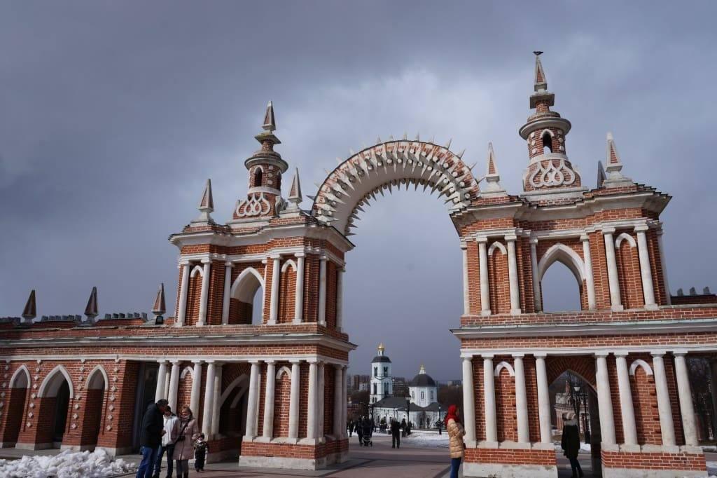 ворота в Царицыно