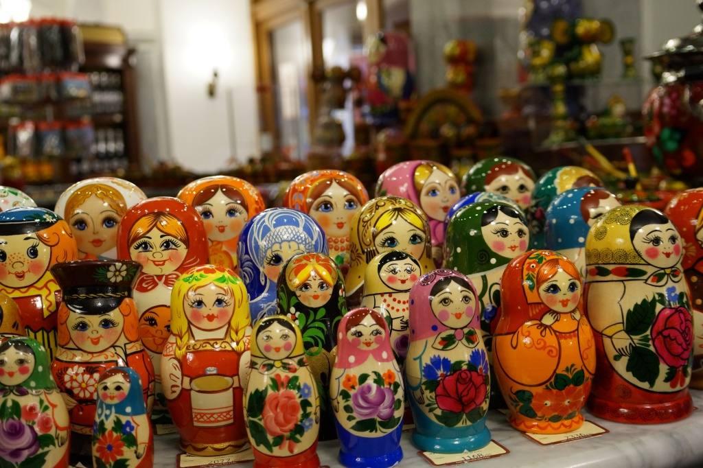 Матрешки в Москве