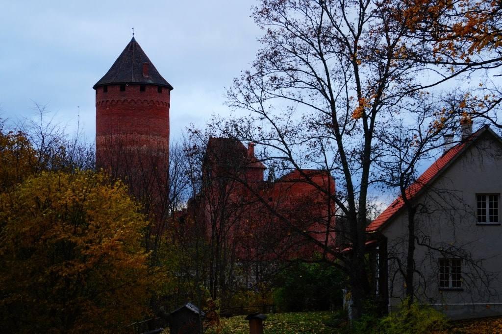 Замок в Латвии