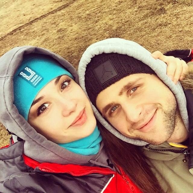 Евгений Ногачев с девушкой