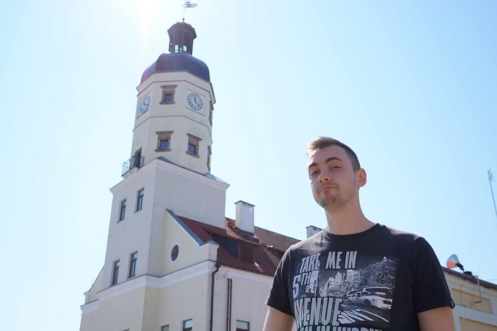 Антон в Несвиже