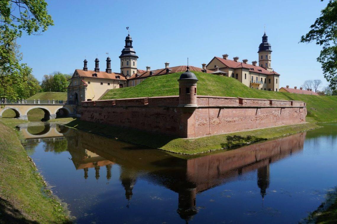 Несвиж Беларусь летом