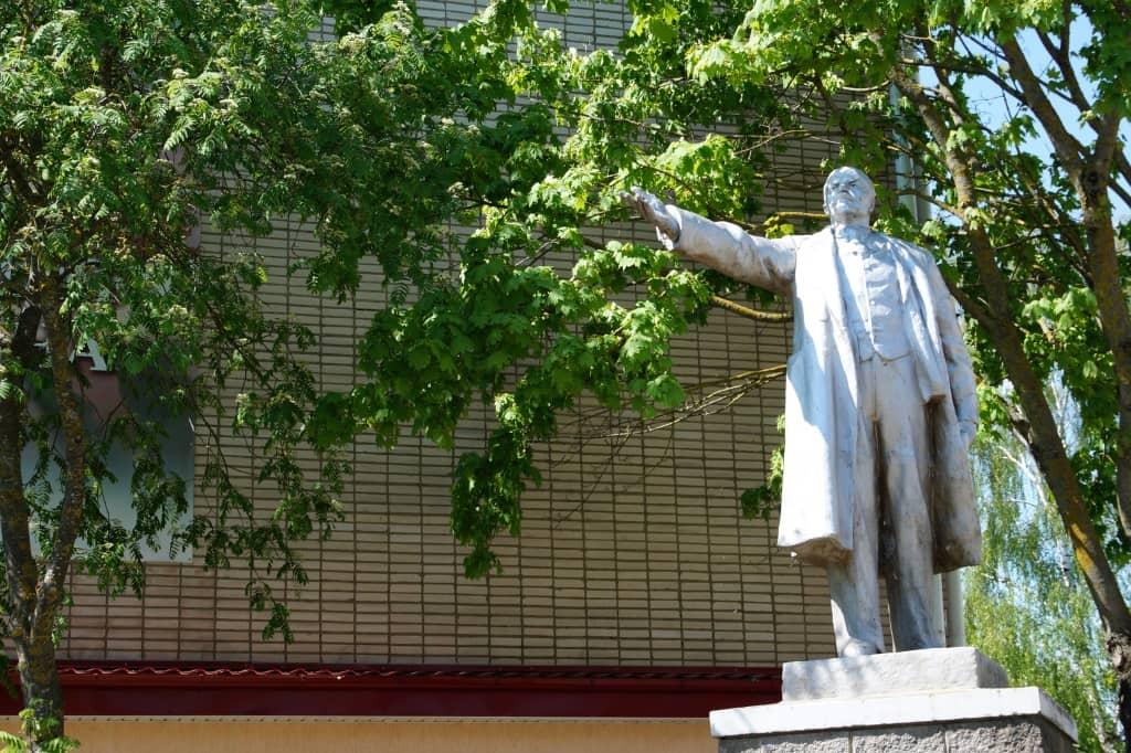 Ленин в Несвиже