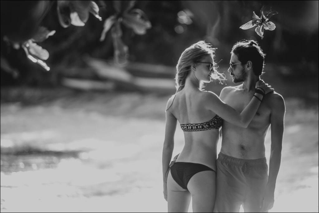 парень и девушка на Шри Ланке