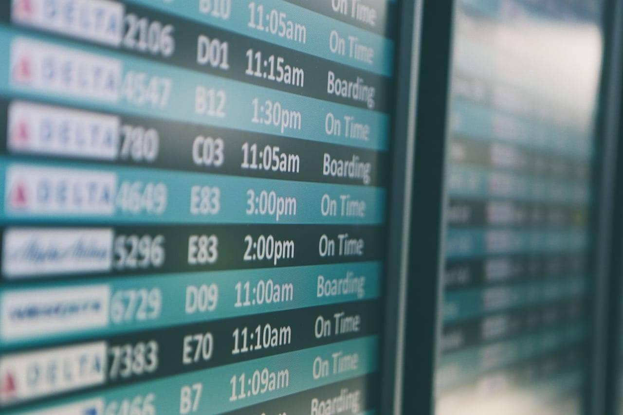 рейсы аэропорт