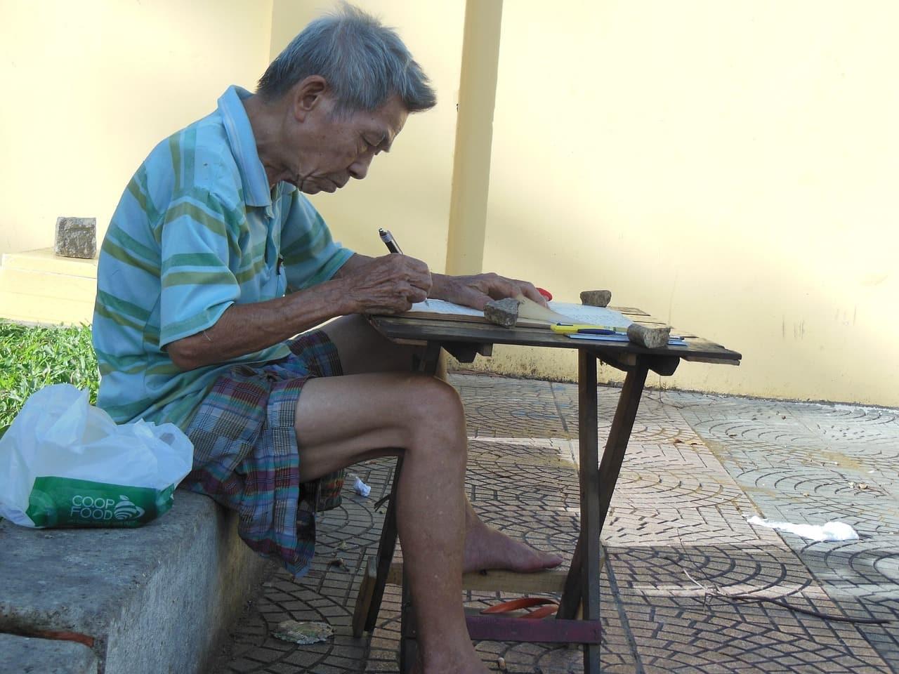 старый вьетнамец