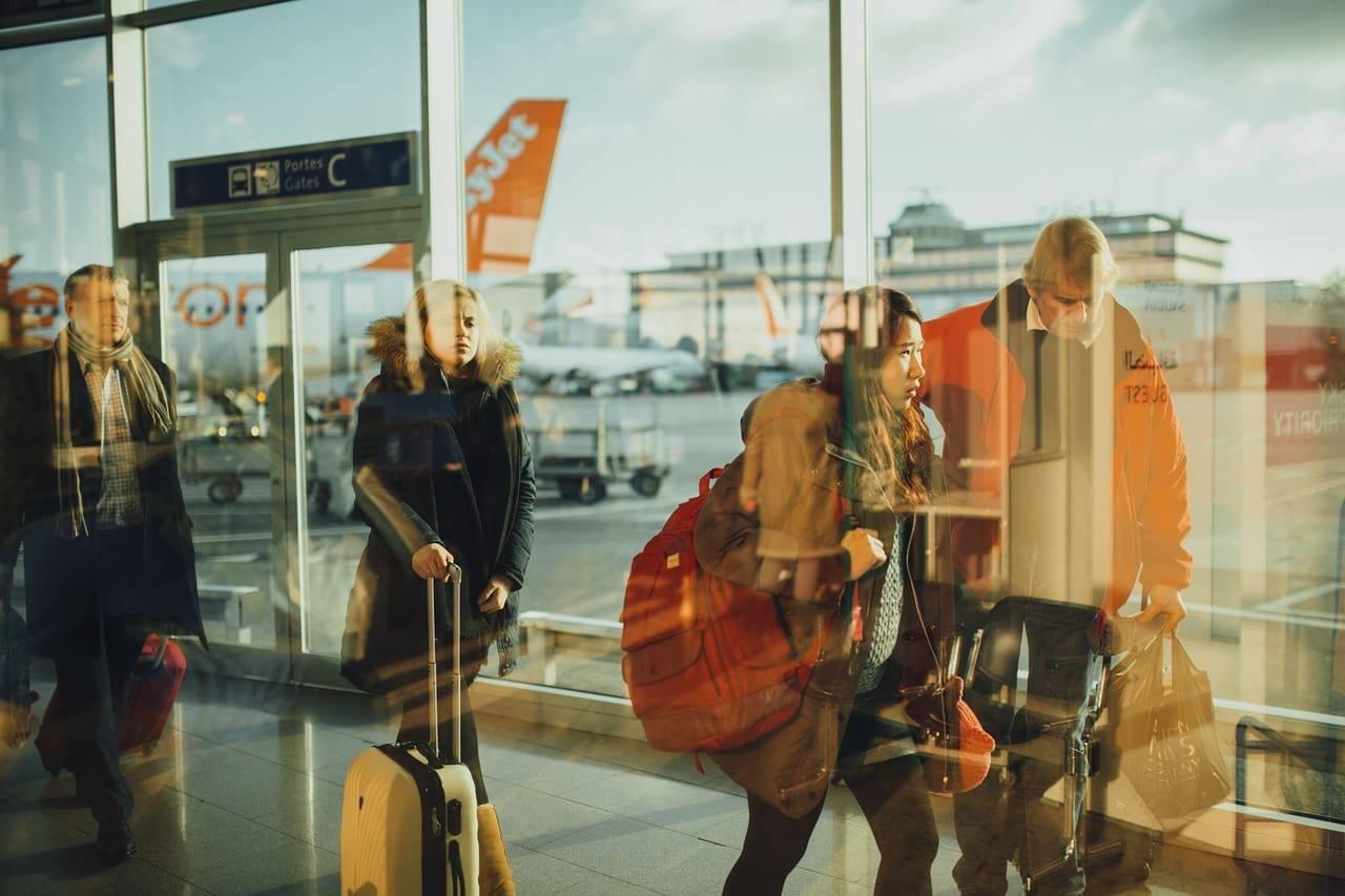 аэропорт пассажиры