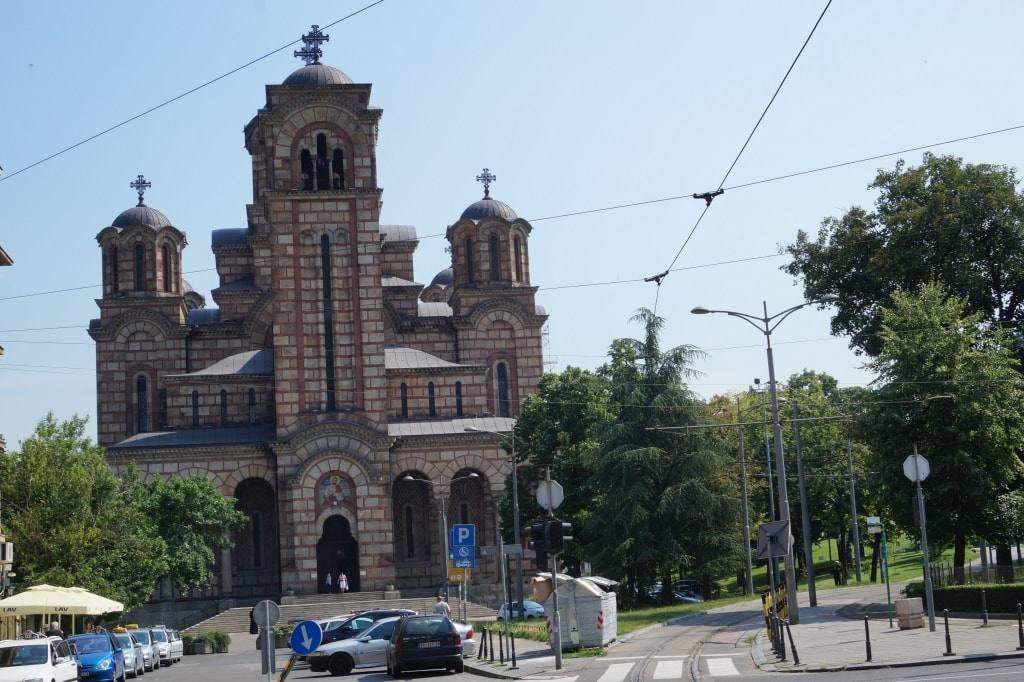 церковь святого Марка Белград