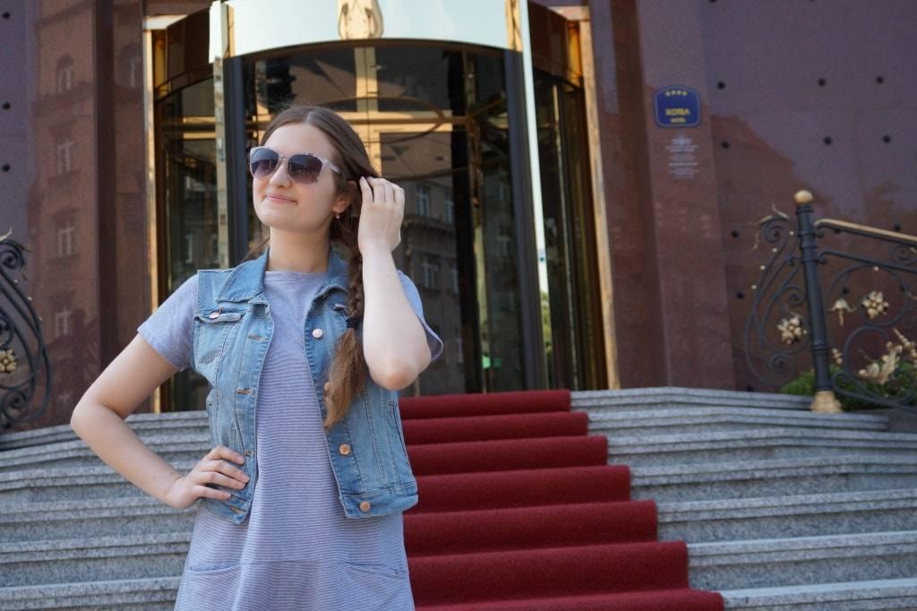 Таня в Белграде