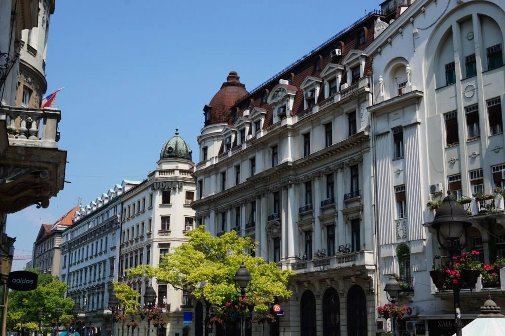 ulica v serbii