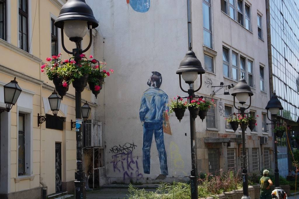 граффити Белград