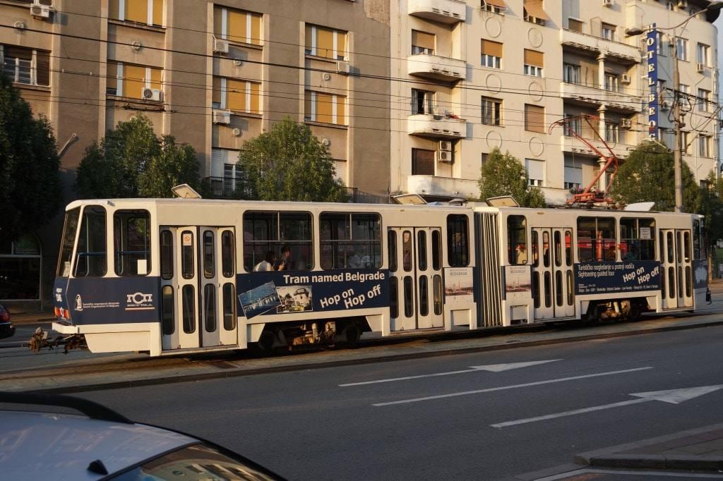 трамвай по имени Белград
