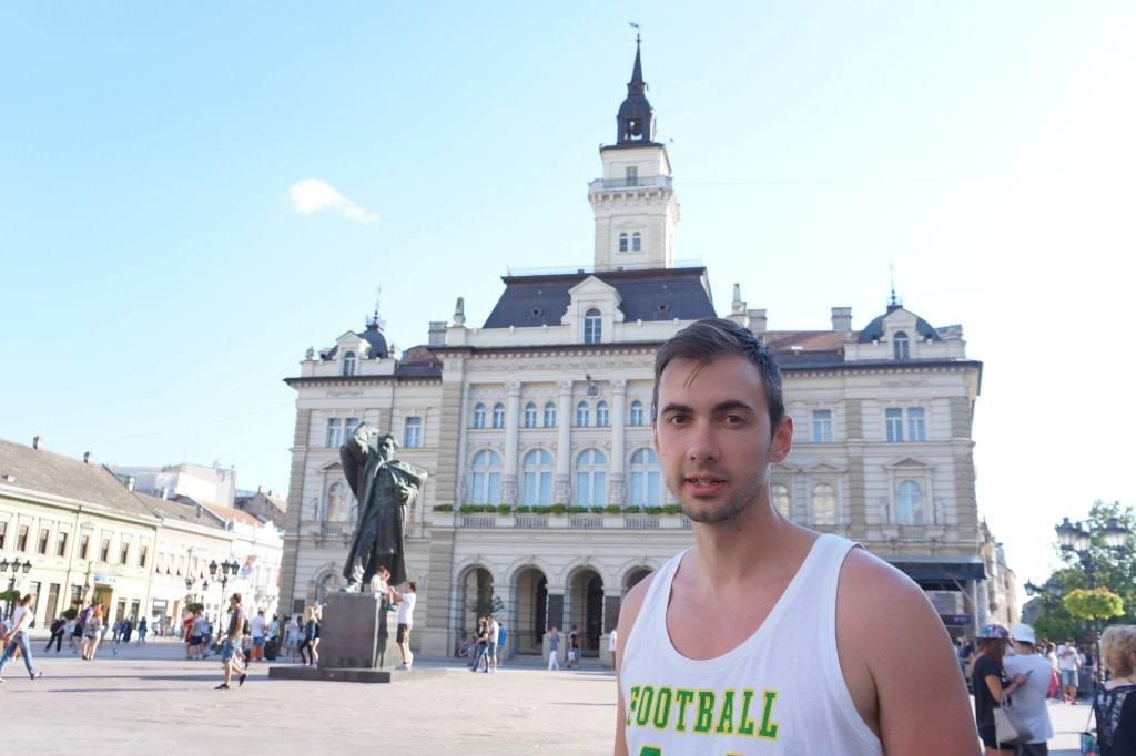 Антон Бородачев в Сербии