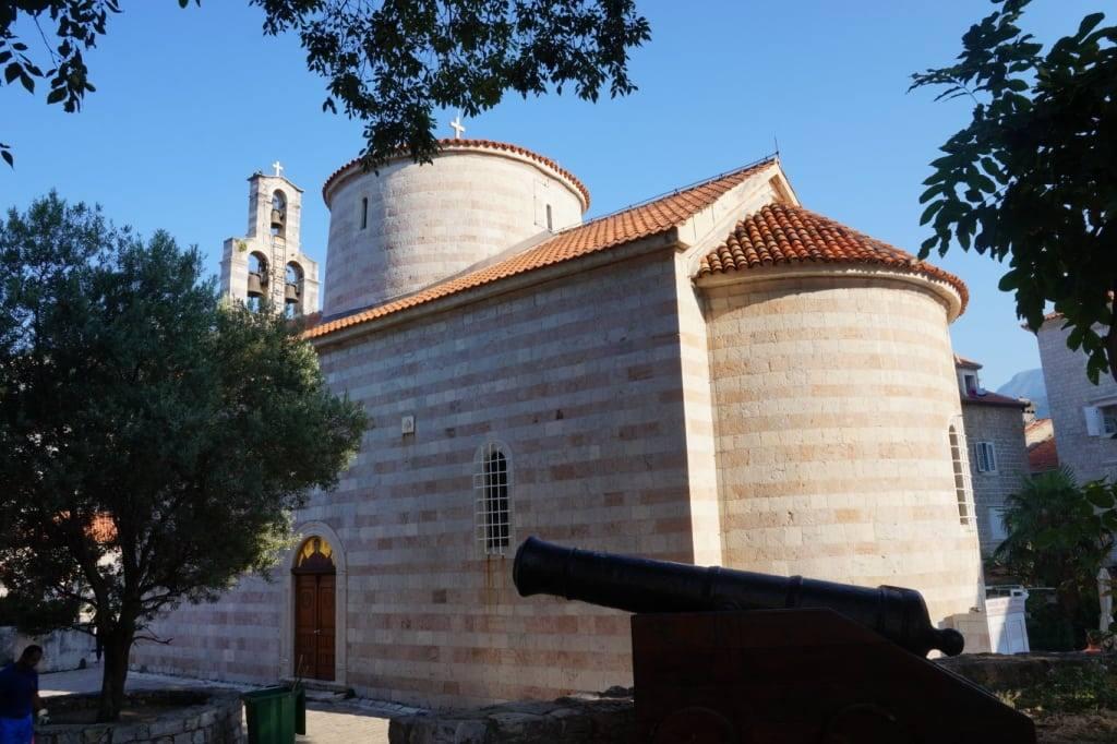 Crkva Svete Trojice Budva Old town