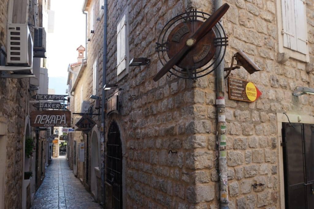 Budva Old town streets