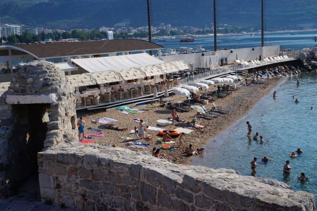 Pizana beach Budva Montenegro
