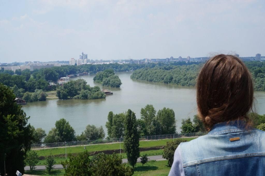 Slijanije Savvy i Dunaja v Belgrade