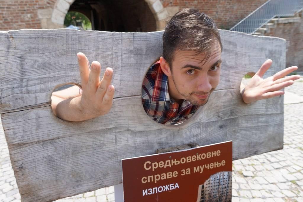 Musej pytok v Belgradskoj kreposti Kalemegdan park