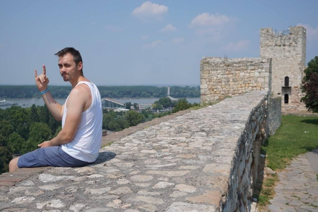 Belgrade fortress in Kalemegdan park