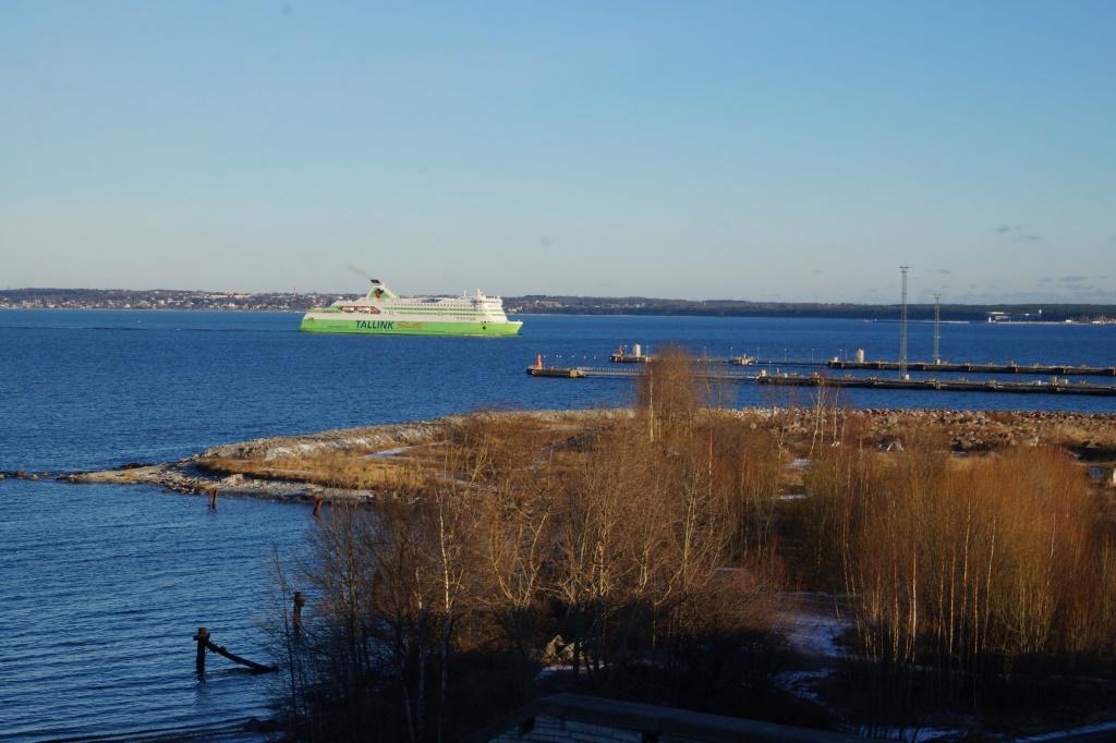 корабль в эстонии
