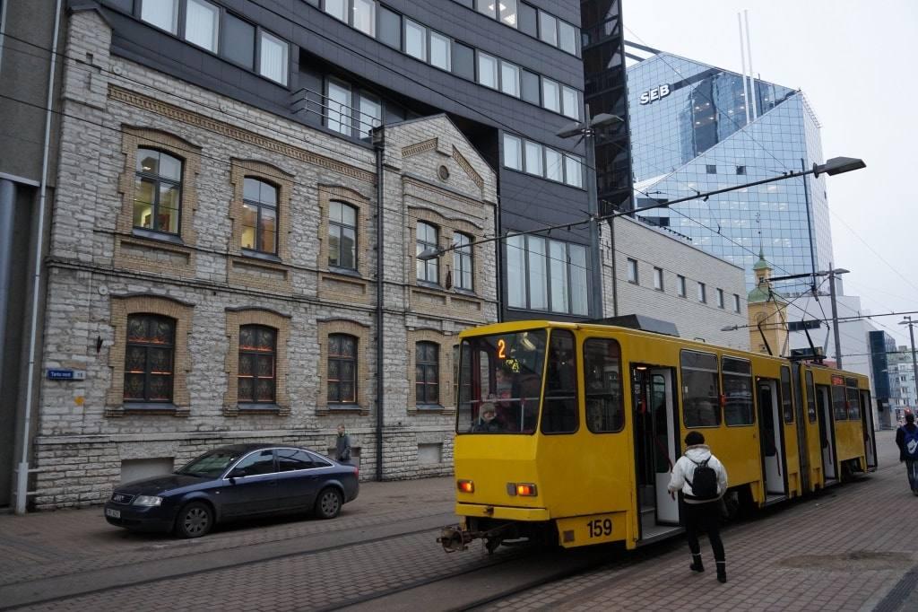 трамвай-в-таллинне