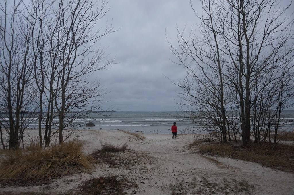Балтика-зимой